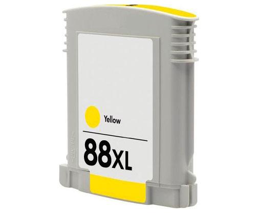 Tinteiro Compatível HP 88 XL Amarelo 35ml