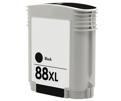 Tinteiro Compatível HP 88 XL Preto 80ml