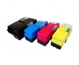 4 Toners Compativeis, Kyocera TK 825 Preto + Cor ~ 15.000 / 7.000 Paginas