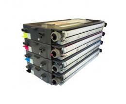 4 Toners Compativeis, Lexmark C500H2 ~ 5.000 / 3.000 Paginas