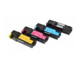4 Toners Compativeis, DELL 5931103X Preto + Cor ~ 3.000 / 2.500 Paginas