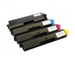 4 Toners Compativeis, Kyocera TK 590 Preto + Cor ~ 7.000 / 5.000 Paginas