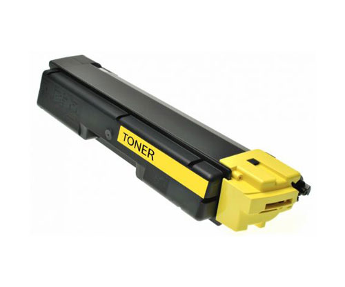 Toner Compativel Kyocera TK 590 Y Amarelo ~ 5.000 Paginas
