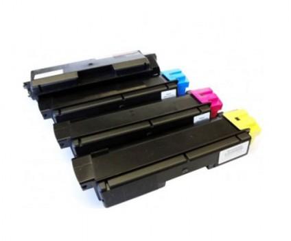 4 Toners Compativeis, Kyocera TK 580 Preto + Cor ~ 4.000 / 3.000 Paginas
