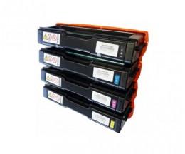 4 Toners Compativeis, Kyocera TK 150 Preto + Cor ~ 6.000 Paginas