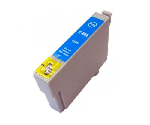 Tinteiro Compativel Epson T0802 Cyan 13ml