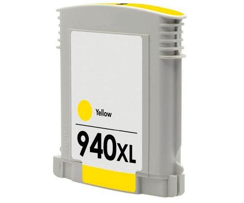 Tinteiro Compativel HP 940 XL Amarelo 30ml