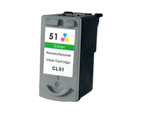 Tinteiro Compatível Canon CL-38 / CL-41 / CL-51 Cor 21ml