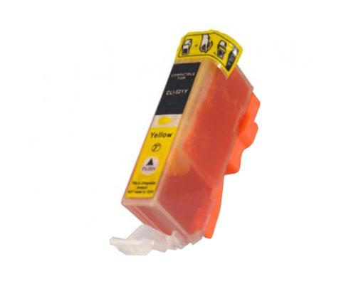 Tinteiro Compativel Canon CLI-521 Y Amarelo 9ml