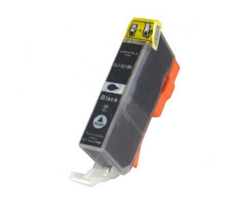 Tinteiro Compatível Canon CLI-521 BK Preto 9ml