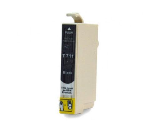 Tinteiro Compatível Epson T0711 / T0891 Preto 13ml
