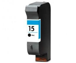 Tinteiro Compatível HP 15 Preto 40ml