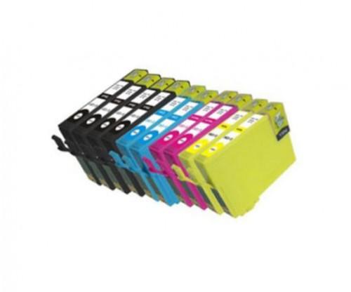 10 Tinteiros Compativeis, Epson T1291-T1294 Preto 15ml + Cor 13ml