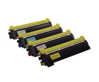 4 Toners Compativeis, Brother TN-230 Preto + Cor ~ 2.200 / 1.400 Paginas