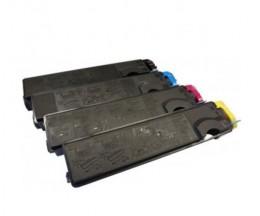 4 Toners Compativeis, Kyocera TK 500 Preto + Cor ~ 8.000 Paginas