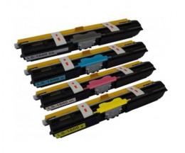 4 Toners Compativeis, Konica Minolta A0V30XH Preto + Cor ~ 2.500 Paginas