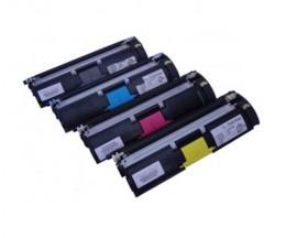 4 Toners Compativeis, Konica Minolta A00WX32 Preto + Cor ~ 4.500 Paginas