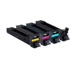4 Toners Compativeis, Konica Minolta A0DKX52 Preto + Cor ~ 8.000 Paginas