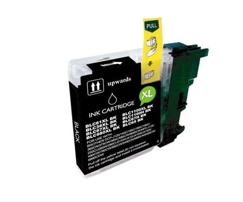 Tinteiro Compativel Brother LC-980 XL BK / LC-1100 XL BK Preto 28ml