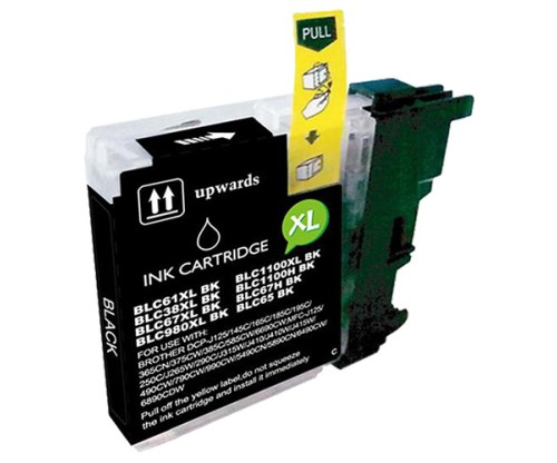 Tinteiro compatível Brother LC-985 XL BK Preto 28ml