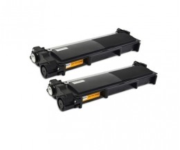 2 Toners Compativeis, Brother TN-2320 Preto ~ 2.600 Paginas