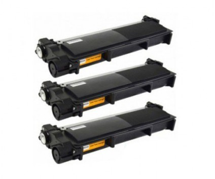 3 Toners Compativeis, Brother TN-2320 Preto ~ 2.600 Paginas
