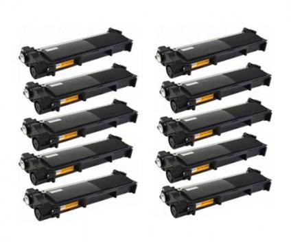 10 Toners Compativeis, Brother TN-2320 Preto ~ 2.600 Paginas