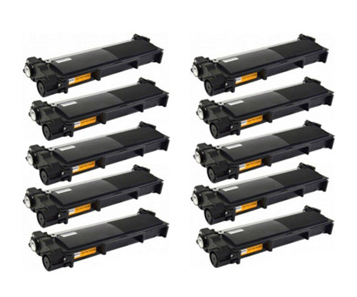 10 Toners Compativeis, Brother TN-2320 Preto ~ 2.600 Paginas