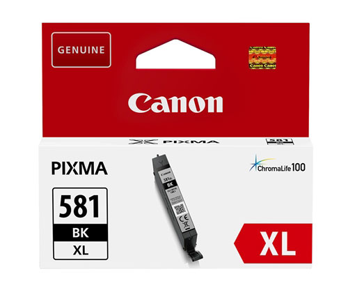 Tinteiro Original Canon CLI-581 XL Preto Foto 8.3ml
