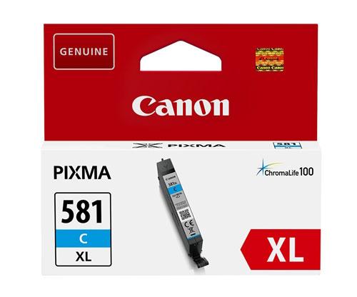 Tinteiro Original Canon CLI-581 XL Cyan 8.3ml