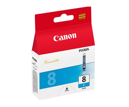 Tinteiro Original Canon CLI-8 Cyan 13ml ~ 420 Paginas