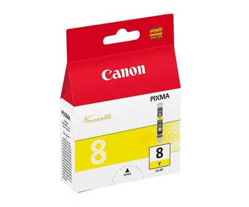 Tinteiro Original Canon CLI-8 Amarelo 13ml ~ 530 Paginas