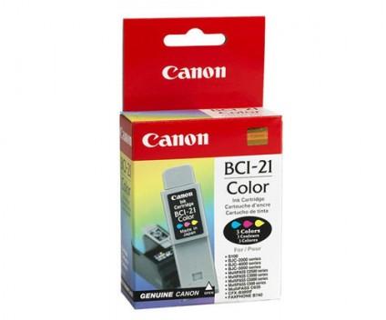 Tinteiro Original Canon BCI-21 Cor 10ml