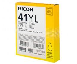 Tinteiro Original Ricoh GC-41 Amarelo ~ 600 Paginas