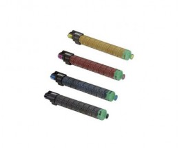 4 Toners Compativeis, Ricoh 84165X Preto + Cor ~ 28.000 / 18.000 Paginas