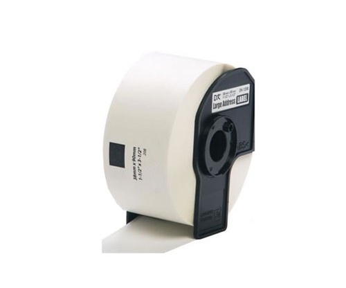 Etiquetas Compativeis, Brother DK11208 39mmx90mm Rolo branco 400 / Rolo