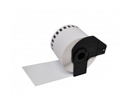 Etiquetas Compativeis, Brother DK22212 62mm x 15.24m Rolo Branco Papel