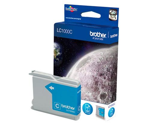 Tinteiro Original Brother LC1000C Cyan 6.5ml ~ 400 Paginas
