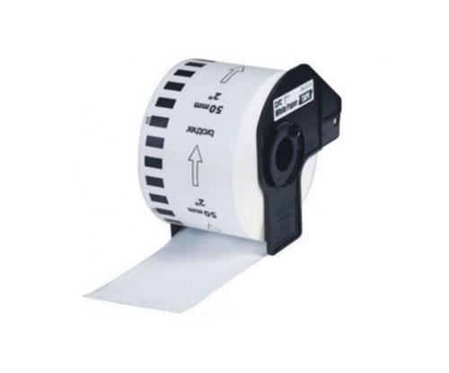 Etiquetas Compativeis, Brother DK22223 50mm x 30.48m Rolo Branco
