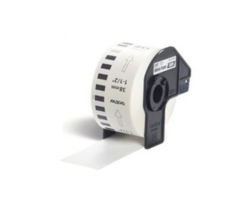 Etiquetas Compativeis, Brother DK22225 38mm x 30.48m Rolo Branco