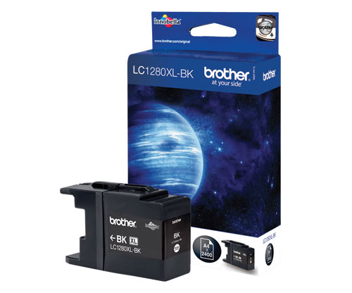 Tinteiro Original Brother LC1280XL-BK Preto 54.7ml ~ 2.400 Paginas