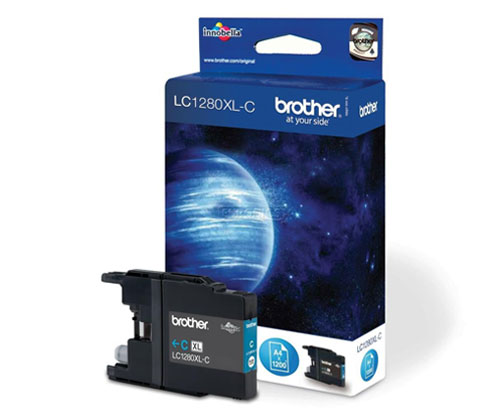 Tinteiro Original Brother LC1280XLC Cyan 13.3ml ~ 1.200 Paginas