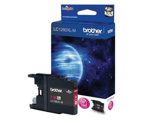 Tinteiro Original Brother LC1280XLM Magenta 13.3ml ~ 1.200 Paginas