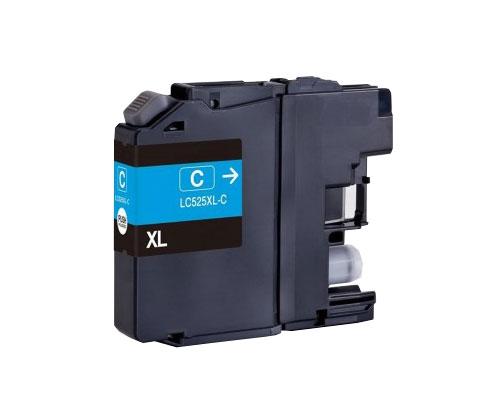 Tinteiro Compativel Brother LC-525 XL C Cyan ~ 1.500 Paginas