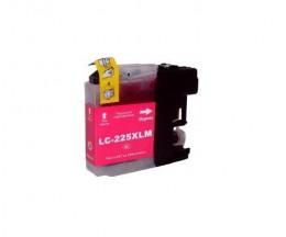 Tinteiro Compativel Brother LC-225 XL M Magenta 15.6ml