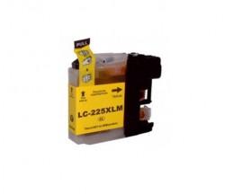 Tinteiro Compativel Brother LC-225 XL Y Amarelo 15.6ml