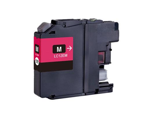 Tinteiro Compativel Brother LC-12E M Magenta