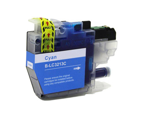 Tinteiro Compativel Brother LC3211 / LC3213 Cyan ~ 400 Paginas