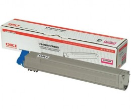 Toner Original OKI 42918914 Magenta ~ 15.000 Paginas