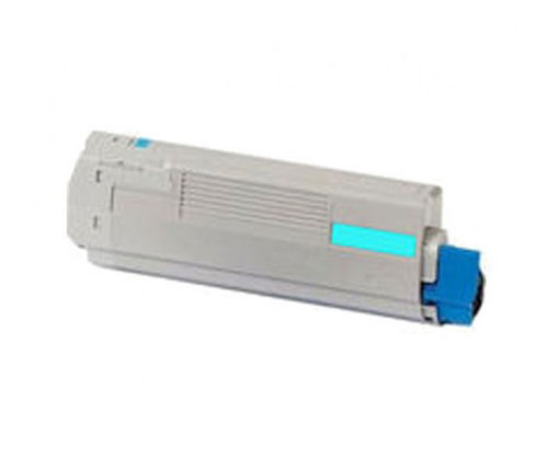 Toner Compativel OKI 44059211 Cyan ~ 10.000 Paginas
